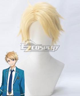 Ensemble Stars Knights Arashi Narukami Golden Cosplay Wig