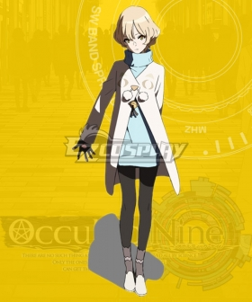 Occultic Nine Asuna Kisaki Cosplay Costume