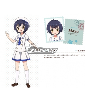 Gochuumon wa Usagi Desu ka? Is the Order a Rabbit? Chara maya Maya Jouga Cosplay Costume