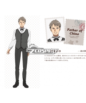 Gochuumon wa Usagi Desu ka? Is the Order a Rabbit? Takahiro Kafuu Cosplay Costume