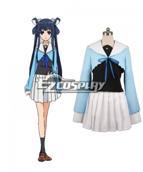 Okami-san to Shichinin no Nakamatachi Otohime Ryugu Cosplay Costume