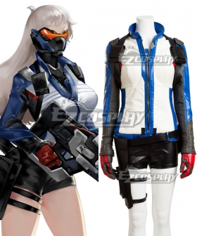 Overwatch OW Soldier 76 John Jack Morrison Female Cosplay Costume