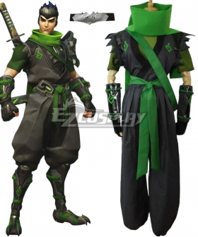 Overwatch OW Sparrow Genji Cosplay Costume