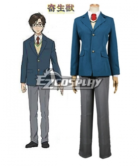 Parasyte Shinichi Izumi Cosplay Costume