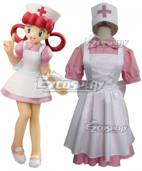 Pokemon Sun and Moon Nurse Joy Cosplay Costume