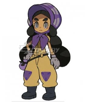 Pokemon Sun and Moon Hapu Cosplay Costume