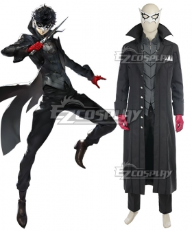 Persona 5 Joker Protagonist Akira Kurusu Ren Amamiya Cosplay Costume - Premium Edition and Including Mask