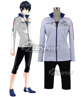 Prince of Stride Alternative Hounan School Takeru Fujiwara Athletic Wear Cosplay Costume