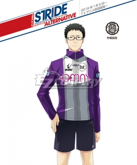 Prince of Stride Alternative Ichiba School Ikki Masunari Athletic Wear Cosplay Costume