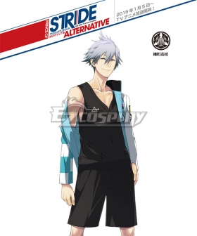 Prince of Stride Alternative Tsubakimachi School Kazuki Satta Athletic Wear Cosplay Costume