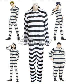 Prison School Purizun Sukuru Kiyoshi Fujino Reiji Andou Prison Uniforms Cosplay Costume