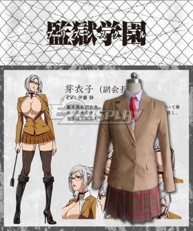 Prison School Purizun Sukuru Meiko Shiraki Cosplay Costume