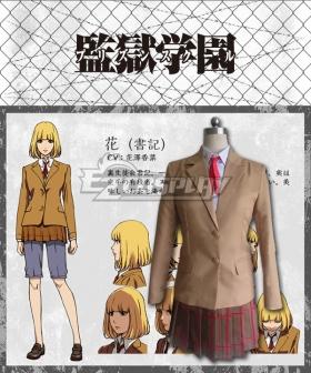 Prison School Purizun Sukuru Hana Midorikawa Cosplay Costume