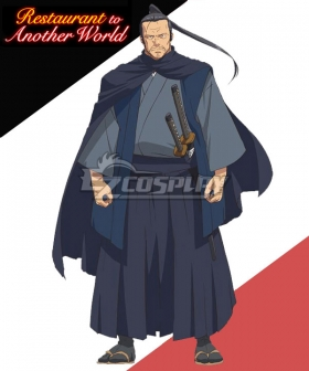 Restaurant to Another World Isekai Shokudou Tatsugorou Tatsugoro Cosplay Costume