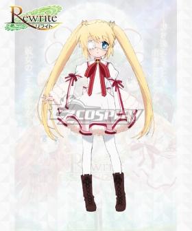 Rewrite Shizuru Nakatsu Cosplay Costume