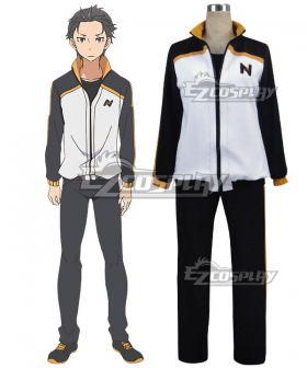 Re: Life In A Different World From Zero Subaru Natsuki Cosplay Costume