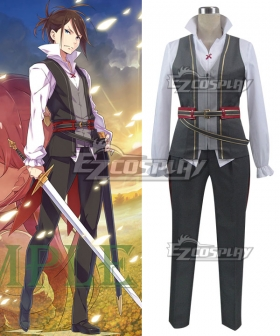 Re: Life In A Different World From Zero Wilhelm van Astrea Young Cosplay Costume