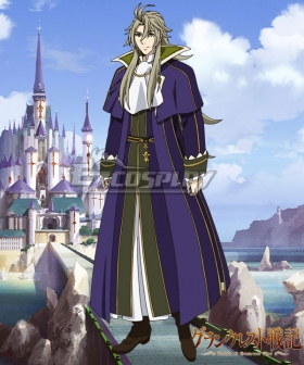 Record of Grancrest War Grancrest Senki Villar Constance Cosplay Costume