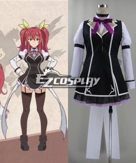 Chivalry of a Failed Knight Rakudai Kishi no Kyabaruryi A Tale of Worst One Stella Vermillion Uniform Cosplay Costume
