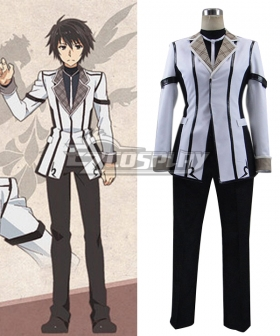 Chivalry of a Failed Knight Rakudai Kishi no Kyabaruryi A Tale of Worst One Ikki Kurogane Uniform Cosplay Costume