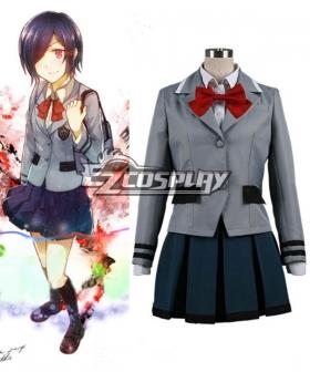 Tokyo Ghoul Touka Kirishima School Uniform  Cosplay Costume