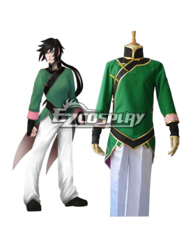 RWBY Beacon Academy Team JNPR Lie Ren Cosplay Costume - Special Sale
