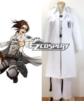 Attack on Titan Shingeki no Kyojin The Recon Corp Wings of Counterattack Online Hanji Zoe Cosplay Costume