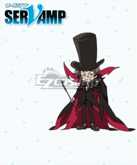Servamp Hugh the Dark Algernon III Pride Cosplay Costume