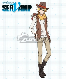 Servamp Mikuni Alicein Envy Cosplay Costume