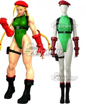 Street Fighter V Cammy Cosplay Costume