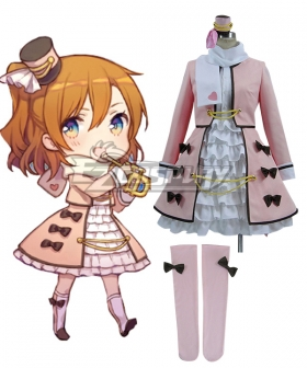 Love Live! Lovelive Kousaka Honoka Instrument Lolita Uniform Cosplay Costume