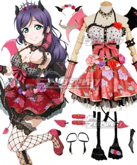 Love Live! Lovelive! Halloween Nozomi Tojo Little Devil Ver. Cosplay Costume