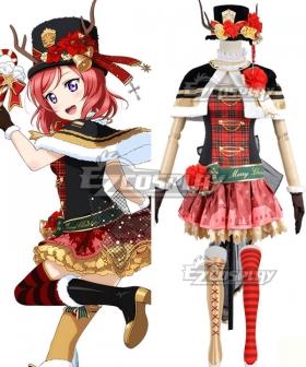 Love Live Christmas Ver. 2 Nishikino Maki Cosplay Costume