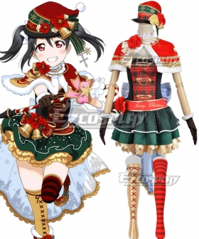 Love Live Christmas Ver. 2 Nico Yazawa Cosplay Costume