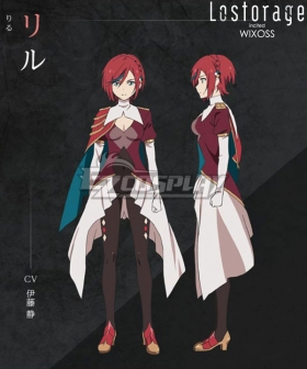 Lostorage Incited WIXOSS Ril Cosplay Costume