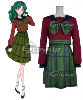Sailor Moon Michiru Kaiou School Uniform Cosplay Costume