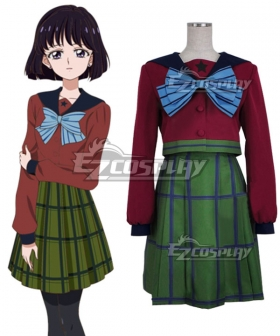 Sailor Moon Hotaru Tomoe School Uniform Cosplay Costume