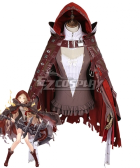 SINoALICE Little Red Riding Hood Crusher Cosplay Costume