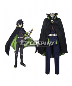 Seraph of the End Owari no Serafu Vampire Reign Hyakuya Yuichiro Yuichiro Hyakuya Cosplay Costume