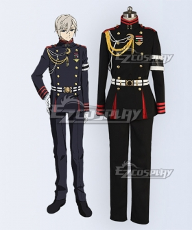 Seraph of the End Vampire Reign Owari no Serafu Shinya Hiragi Cosplay Costume
