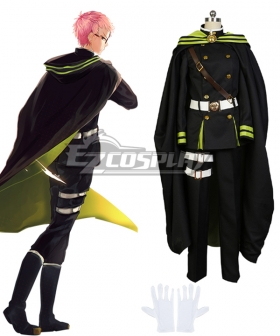 Seraph of the End Owari no Serafu Shiho Kimizuki Cosplay Costume