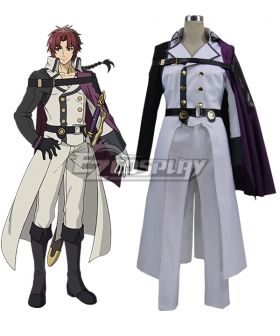 Seraph of the End Vampire Reign Owari no Serafu Crowley Eusford Cosplay Costume