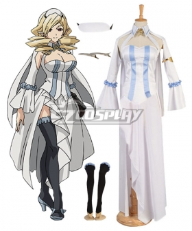 Seraph of the End Horn Skuld Cosplay Costume