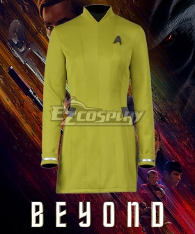 Star Trek Beyond Yellow Dress Cosplay Costume