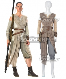 Star Wars Rey Cosplay Costume
