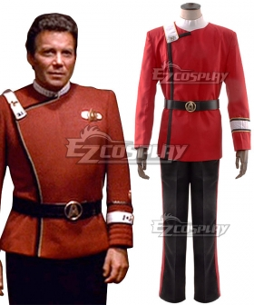 Star Trek James Tiberius Kirk Cosplay Costume
