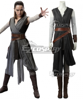 Star Wars The Last Jedi Rey B Edition Cosplay Costume