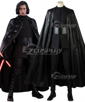Star Wars Episode The Last Jedi Kylo Ren Cosplay Costume