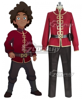 The Dragon Prince Prince Ezran Cosplay Costume