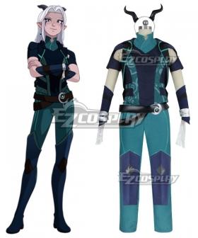 The Dragon Prince Rayla Cosplay Costume